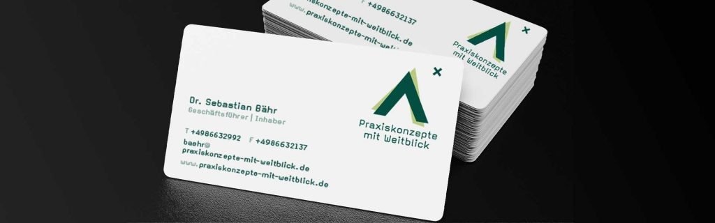 Logo-Design für Arztpraxis von Design Agentur Hamburg