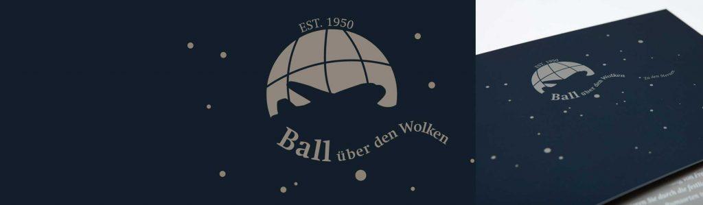 Logo-Entwicklung für Ball über den Wolken im Hotel Atlantic Hamburg