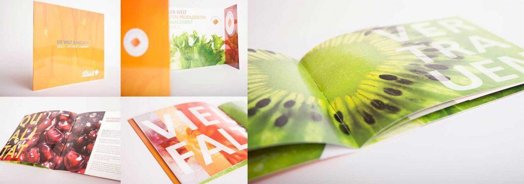 Image-Broschüre Gestaltung