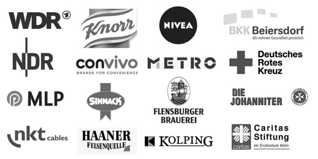 Logos der Kunden von Design Agentur Hamburg