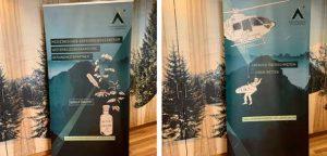 Roll-Up Gestaltung für Arztpraxis in Bayern