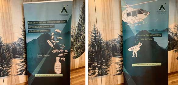 Roll-Up Gestaltung für Arztpraxis in Bayern von Design Agentur Köln