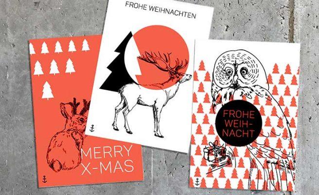 Weihnachtskarten Design Agentur Hamburg