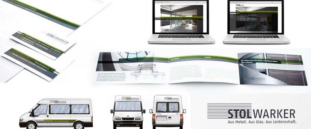 Corporate Design Entwicklung mit Naming von Designagentur hamburg