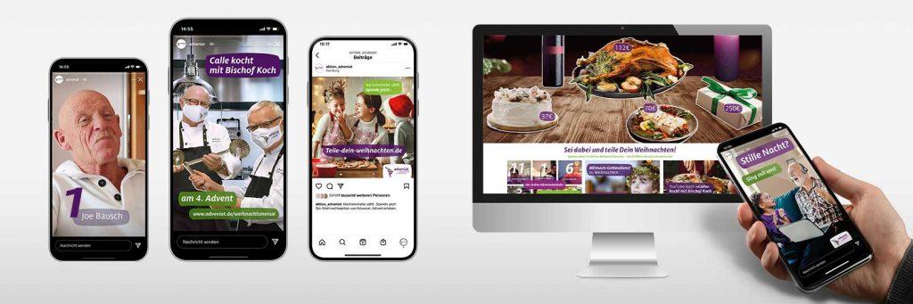 Online Kampagne von Design Agentur Hamburg