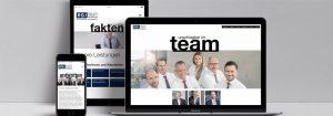 webdesign RGJ von Designagentur Hamburg