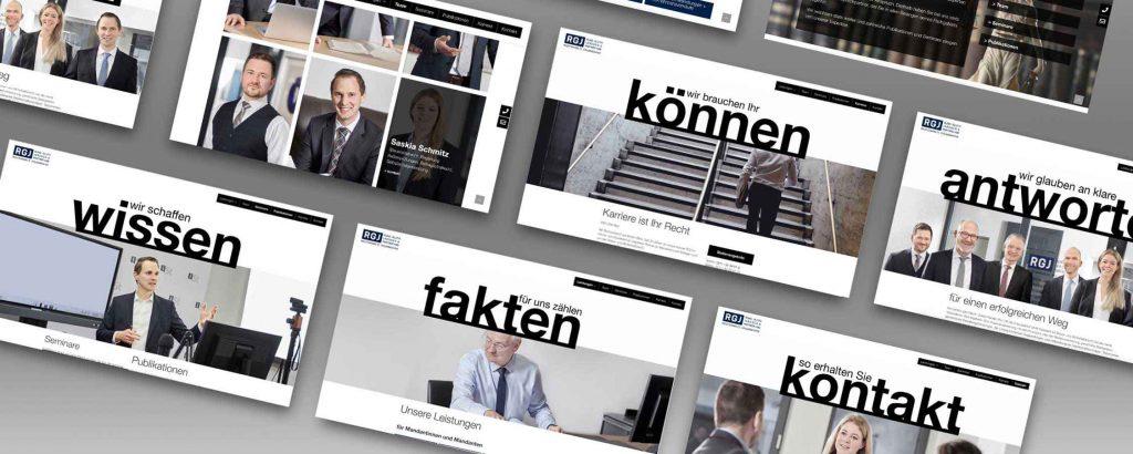 Webdesign_rgj_Kanzlei von designagentur_hamburg