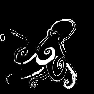 Illustration einer Krake von Designagentur Hamburg