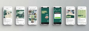 Kreation einer Social Media Kampagne für ein Unternehmen aus dem Medizin Bereich