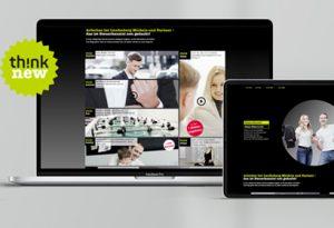 Karriereseite online LMP Designagentur Hamburg