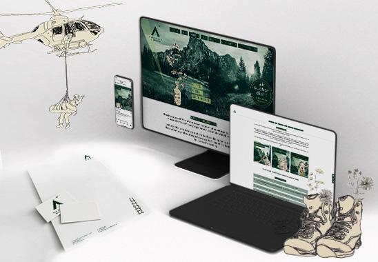 Das Corporate Design von »Praxiskonzepte mit Weitblick« wurde bei den Co&Co Design selected Awards 2021 ausgezeichnet