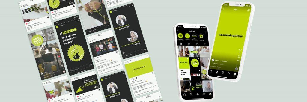 Social Media Kampagne für Mitarbeiter-Recruiting einer Steuer Kanzlei aus Köln
