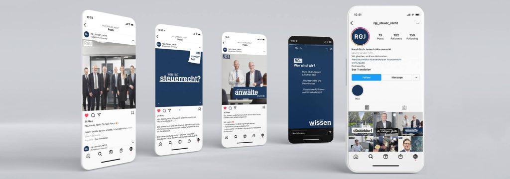 Social Media Agentur und Recruiting von Designagentur Hamburg und Köln