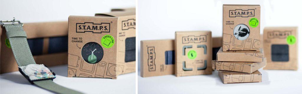 design von nachhaltigen Verpackungen für Uhren und Armbänder von unserer Packaging Design Agentur Hamburg