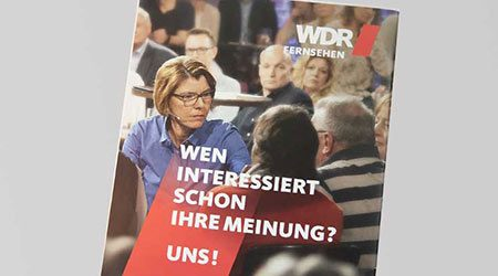 Werbe Kampagne für WDR von Designagentur Hamburg