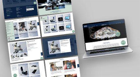 Online Shop Krüss Design Agentur Hamburg
